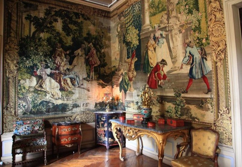 Intérieur Chateau de Pupetières