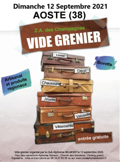 Vide-greniers et produits régionaux / artisanaux