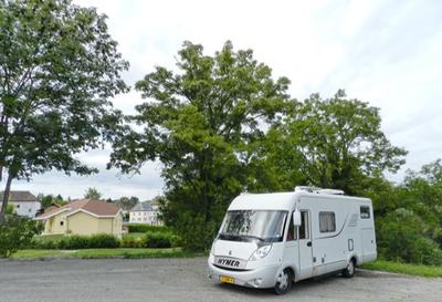 Aire de stationnement Camping-cars du parking du Cimetière