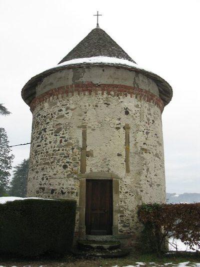 Chapelle du château de Cuirieu