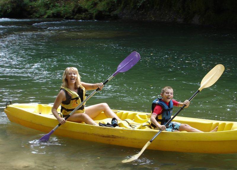 Descente en canoë sur la rivière du Guiers