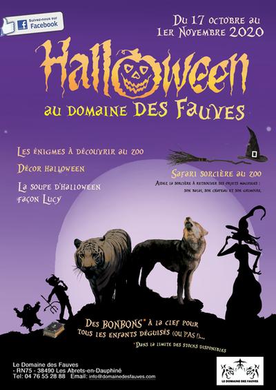 Halloween au Domaine des Fauves