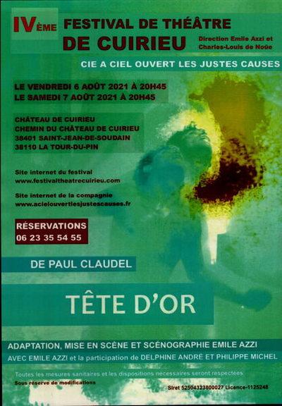 Festival de théâtre de Cuirieu