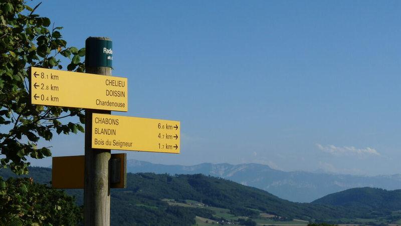Circuit de randonnée La Trans Vals du Dauphiné