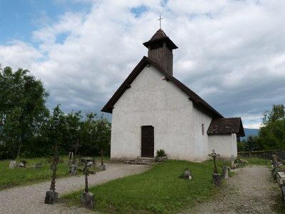 Visite de le Chapelle St Hilaire dAvaux