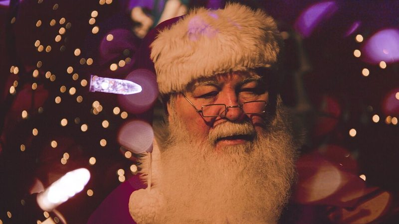 Imaginez le portrait jamais vu du Père Noël !