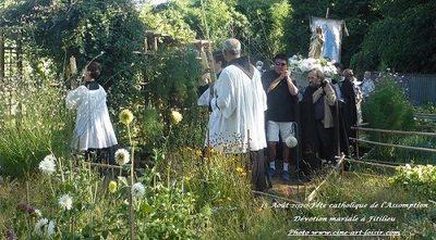 Fête de l'Assomption - Procession du 15 août