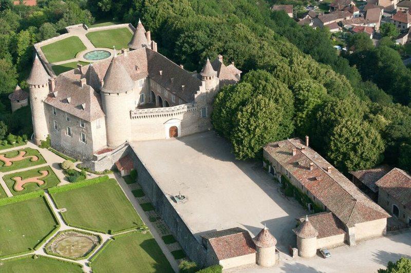Visite du château de Virieu